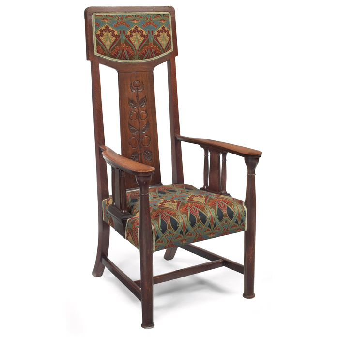 English Arts Amp Crafts Hall Chair Chairblog Eu