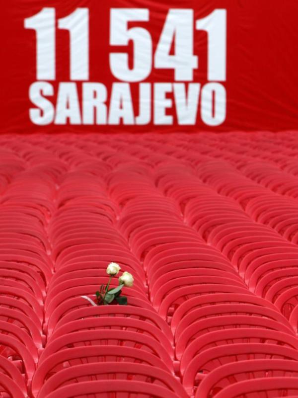 11,541 Chairs Sarajevo