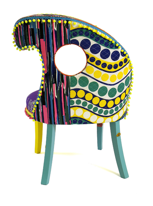 1950's Slipper Chair by Apryl Miller