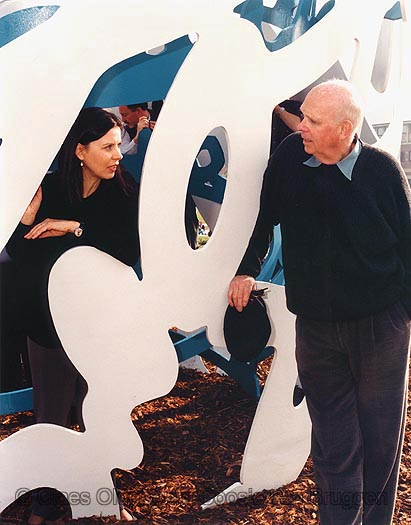Claes Oldenburg and Coosje van Bruggen