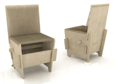 Turkish Student Design Collective: Downloadable Chair