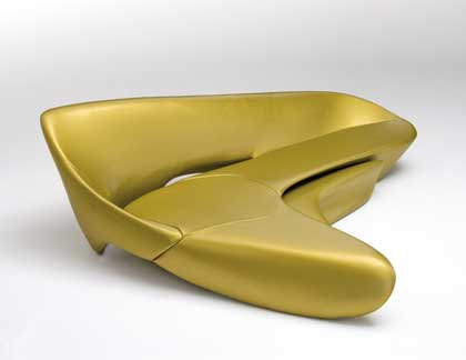 B&B ZAHA HADID MOON SYSTEM GOLD