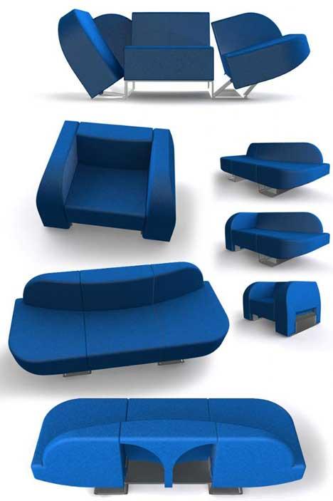 Chair to Sofa by Roel Verhagen Kaptein