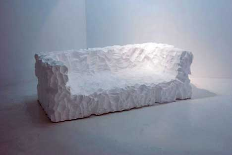 Styrofoam Sofa by Kangho Lee