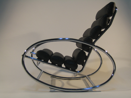 Emma 360 Rocking Chair by Oshar Vazquez