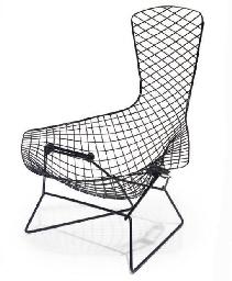 Bird Lounge Chair By Harry Bertoia