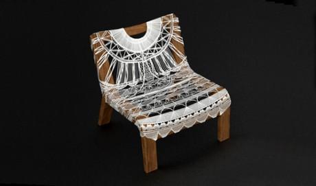 Doily Chair by Tara Murray