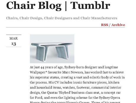 Chair Blog   Tumblr
