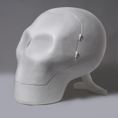 Sensory Deprivation Skull Chair by Atelier Van Lieshout 1