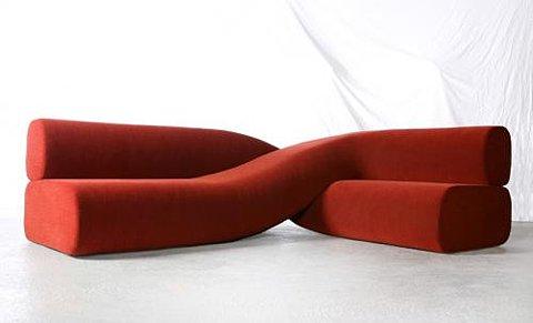 Twisted Sofa by Nea Studio