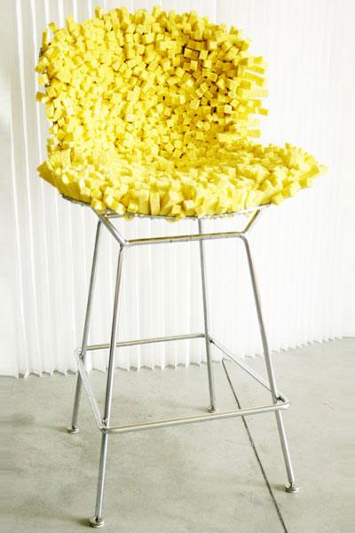 Sponge Chair by Marcella Foschi