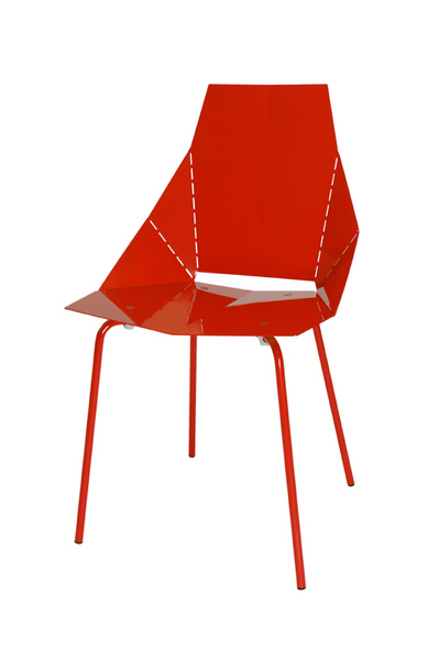 BLU DOT REAL GOOD CHAIR RED