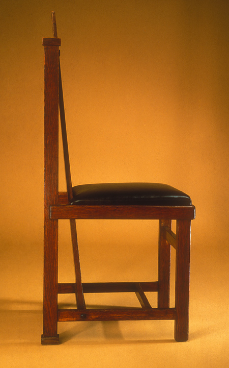 Frank Lloyd Wright Side Chair by Metropolitan Museum of Art