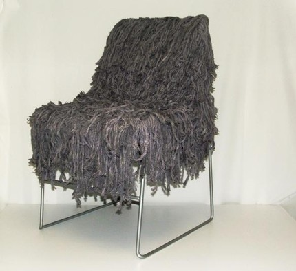 Genial Etsy :: Dinwiddies :: Super Shag Accent Chair
