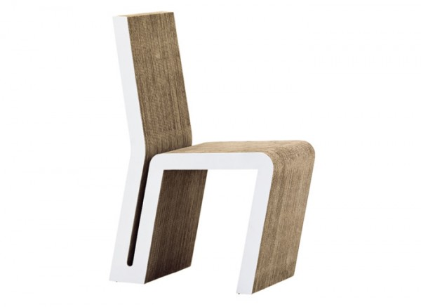 Easy Edges Side Chair By Frank Gehry