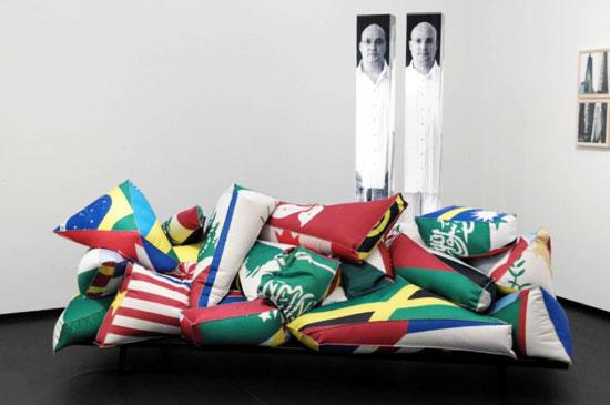 Crowded Sofa by Esri Tarazi