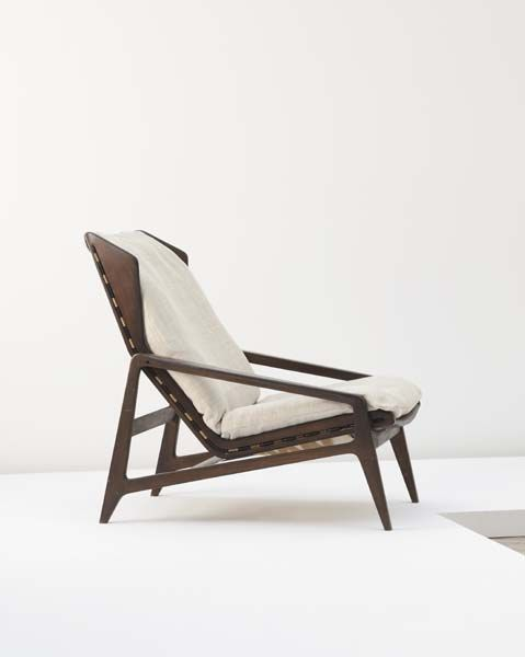 Phillips De Pury U0026 Company: GIO PONTI, Lounge Chair. GIO PONTI Lounge Chair  ...