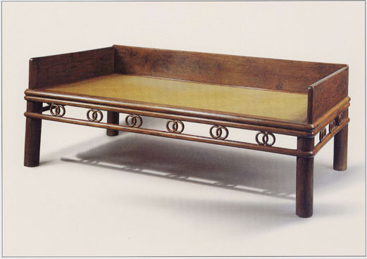 Ming Dynasty Circle Couch Bed