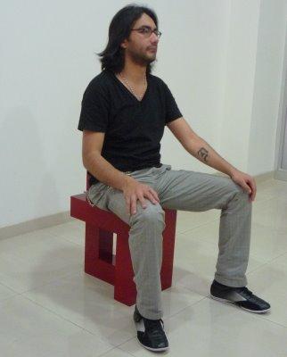 Lala Chair prototype by Danilo Calvache