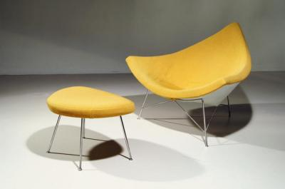 Yellow Coconut Chair by George Nelson