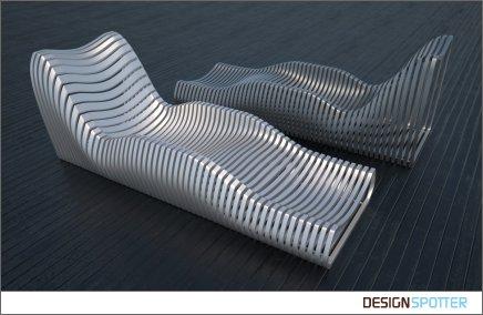 Aluminum Lounge Chair By Erick Sakal