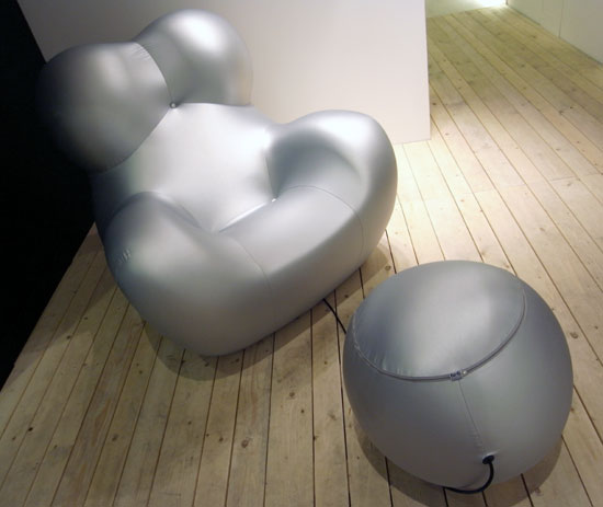 Gaetano Pesce: 'UP 5 and 6' for B and B at milan design week 09