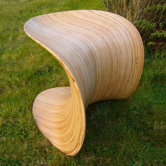 ODEChair Series 3 - Leaf Stool III by Jolyon Yates