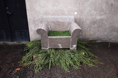 Concrete armchair josefine_premberg