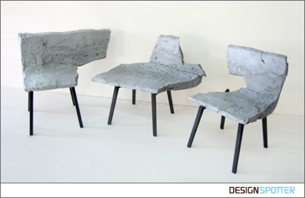 Fracture Bench by Itay Ohaly