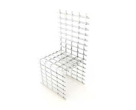 Wire Chair by Jason Phillips
