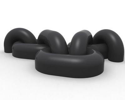 chain sofa Danilo Calvache