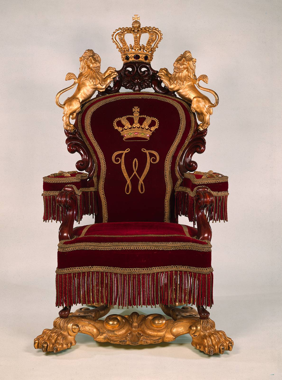 Horrix Throne King William III NL