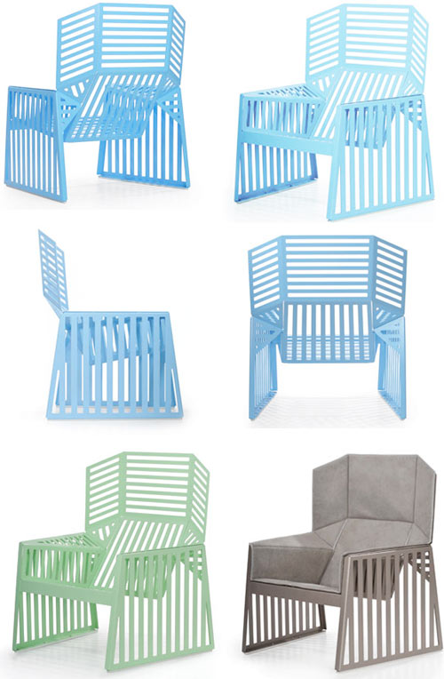 Outdoor Wing Chair by Richard Schultz