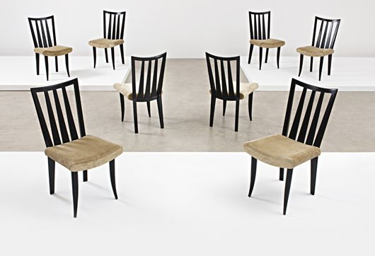 Dining Chairs by Jean Royere