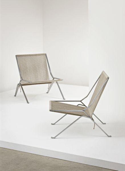 Element Lounge Chairs By Poul Kjaerholm (1988) 119_001