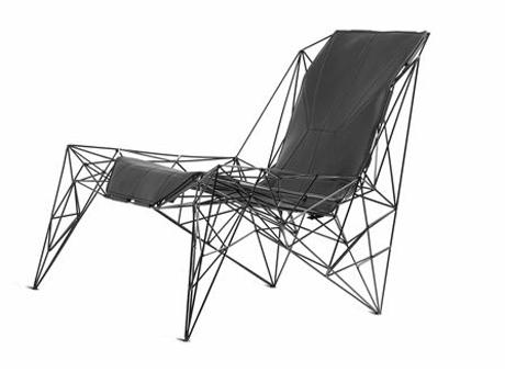 Faraday Chair by Teun Fleskens