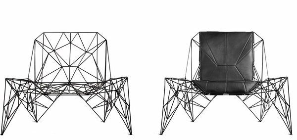 Faraday Wired Chair by Teun Fleskens