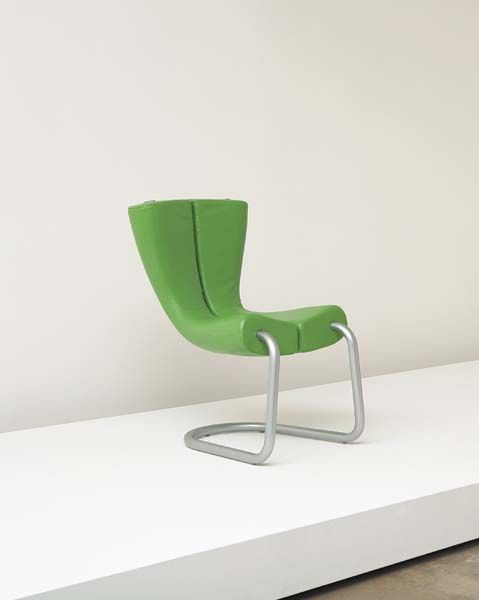 Komed Chair in Green by Marc Newson