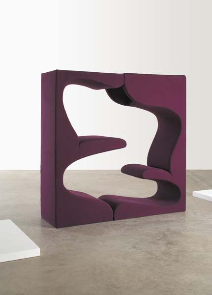 Living Tower Seating by Verner Panton