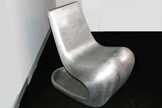 New Alu Rocking Chair by Satyendra Pakhale