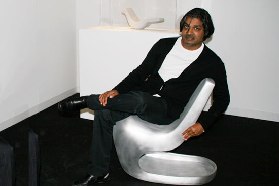 New Alu Rocking Chair with Satyendra Pakhale