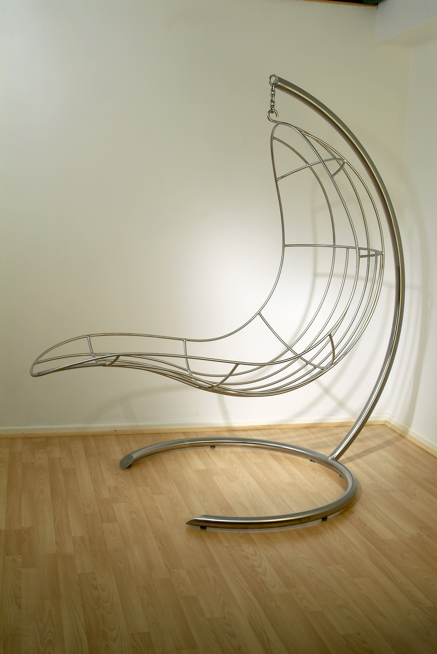 Nirvana Chair by Adrian Thornber   with stand 01