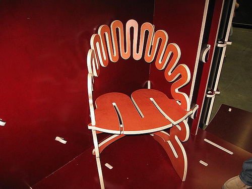 Sculpt Chair by Greg Fleischman