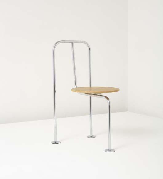 Three Legged Chair by Shiro Kuramata 115_001