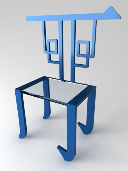 Chinese Chair by Ren Xiaoyu