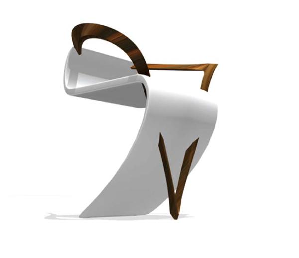 La Roche Concept Chair by Milla Rezanova - Chairblog.eu
