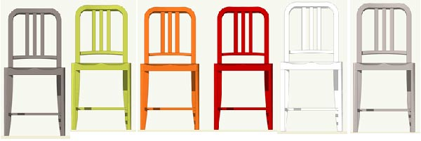 Superior Emeco Goes Green : The 111 Coca Cola Pet Bottles Navy Chair
