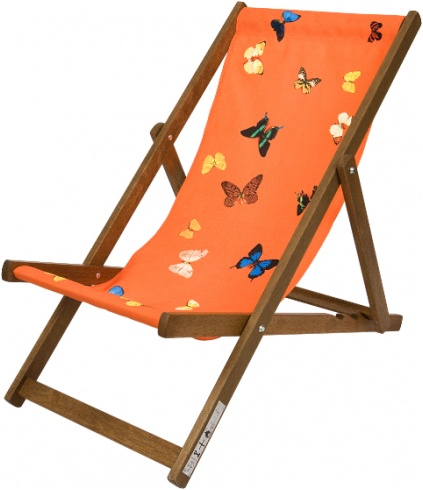 deck chairs by damien hirst did