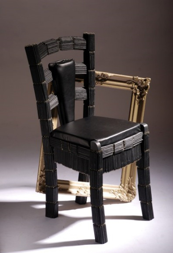 Pencil Chair By Judith Delleman
