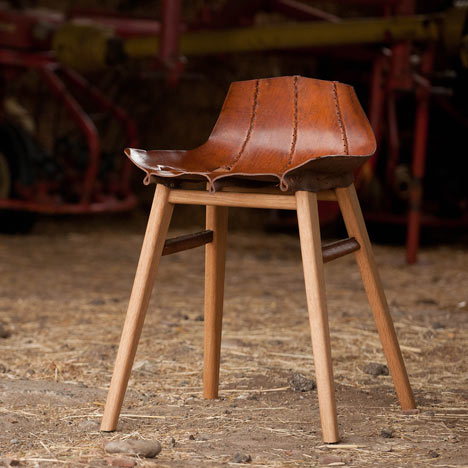 Beautiful Leather Chairs by Tortie Hoare Chairblogeu
